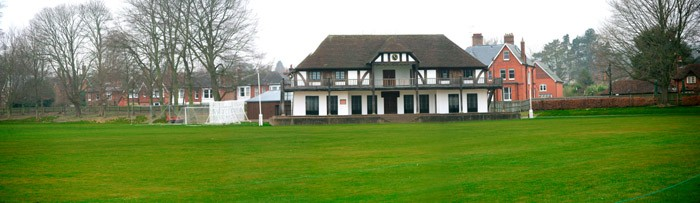 Winchester College cricket pavilion